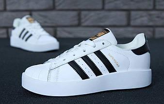 Женские кроссовки в стиле Adidas Superstar Bold, фото 3