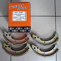 Тормозные колодки задние ВАЗ 2108 (пр-во Триал-Спорт)