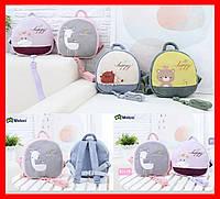 Новые детские плюшевые рюкзачки - высокое качество! Милые животные. Детская сумка. Отличный подарок!