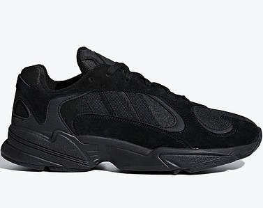 Мужские и женские кроссовки Adidas Yung-1 Black
