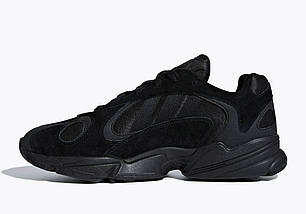 Мужские и женские кроссовки Adidas Yung-1 Black, фото 3