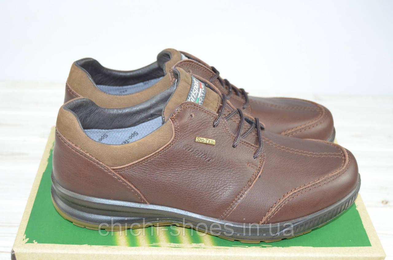 Туфли мужские Grisport 41719-37 коричневые кожа на шнурках