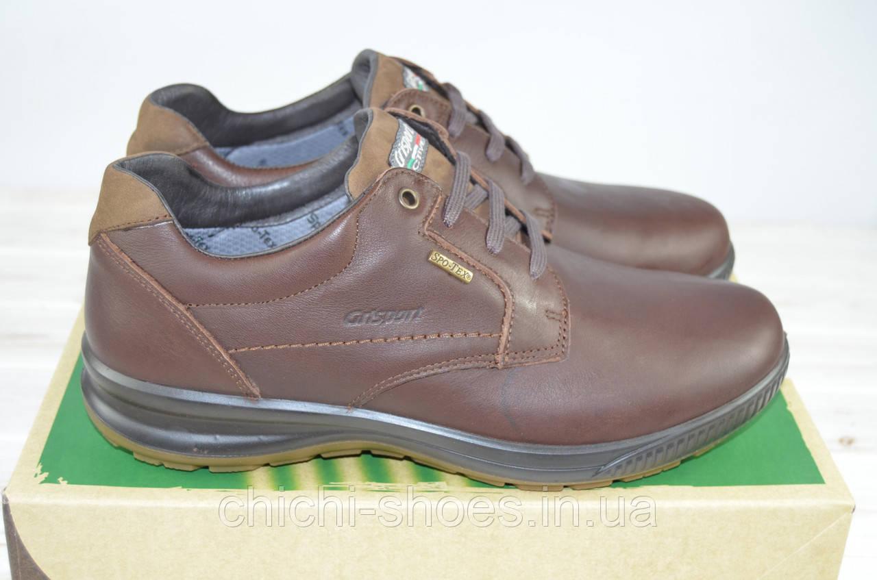Туфли мужские Grisport 41737-11 коричневые кожа на шнурках