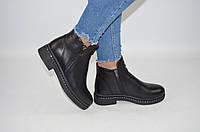 Ботинки женские зимние Carlo Pachini 4-2494-19 чёрные кожа, фото 1