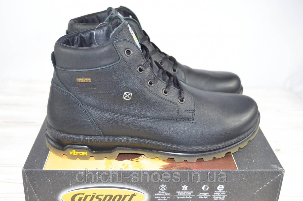 Ботинки мужские зимние Grisport 12925-31 чёрные кожа