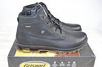 Ботинки мужские зимние Grisport 12925-31 чёрные кожа, фото 1