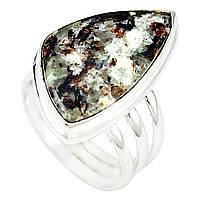 Кольцо с  бронзовым астрофиллитом ,размер 18  от студии LadyStyle.Biz, фото 1