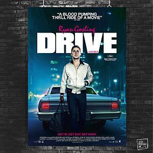 Постер Drive (2011), Райан Гослинг (60x85см)