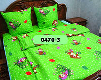 Постельное в детскую кроватку Цирк - Маша и медведь 0470-2 М