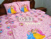 Детское постельное Золушка, ткань бязь Премиум 0533