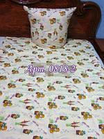Постельное в детскую кроватку, манеж  0818-2 М