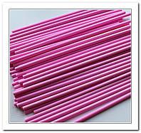 Палочки для кейк попсов розовые 50 шт