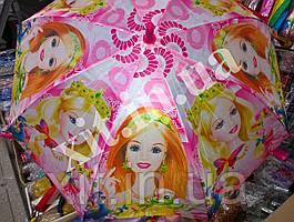 Детский зонт трость Barbie