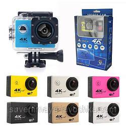Екшн камера F60R - Full HD 4K Wi-Fi з пультом ДУ
