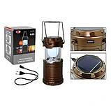 Кемпинговый фонарь G85 (солнечная панель, power bank), фото 4