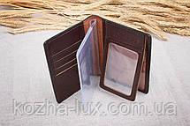 Обложка на документы кожаная стандартная, натуральная кожа, фото 2
