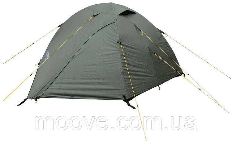 Палатка Terra Incognita двухместная Alfa 2 хаки (зеленый)