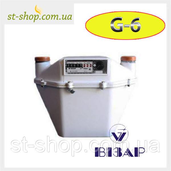 Счетчик газа Визар G 6 (Мембранный)