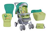 Детская коляска COMBI GREEN GARDEN +MAMA BAG