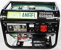 Генератор бензиновый Iron Angel EG 5500 E3