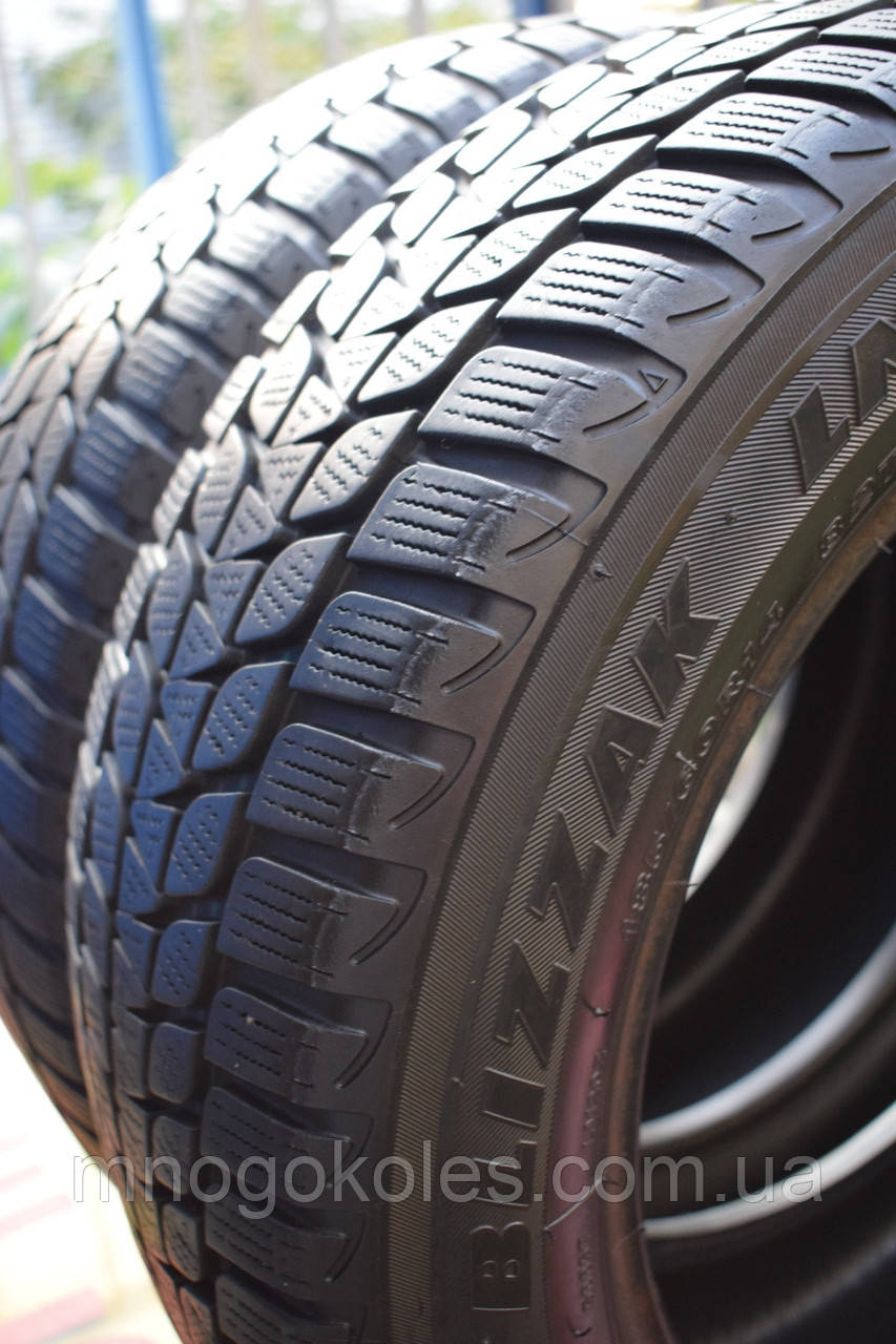 Шины б/у 185/60 R14 Bridgestone ЗИМА, пара