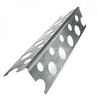 Уголок алюминиевый перфорированный (2,5м/0,30мм)
