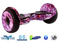 """Гироскутер Smart Balance AllRoad 10,5"""" SUV Premium TaoTao Original Космос Розовый"""