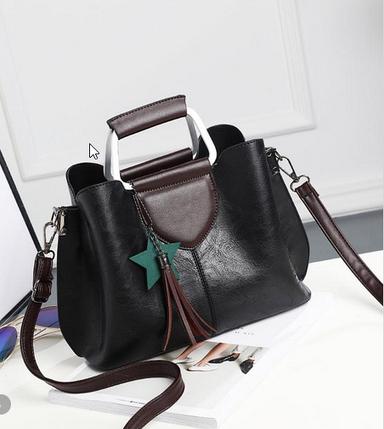 Елегантна жіноча сумка з мармуровим відтінком, фото 2