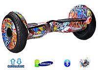 "Гироскутер Smart Balance AllRoad 10,5"" SUV Premium Original Граффити Оранжевый"