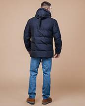 Braggart Youth | Зимняя куртка 25180 темно-синяя, фото 3