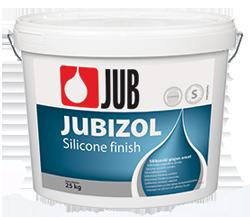 JUBIZOL -- Силиконовая гладкая штукатурка с размером зерна 1,5 / 2,0  (25 кг)