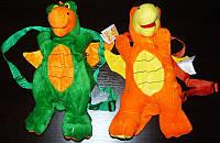 Мягкая игрушка-рюкзак Дракон 28см №0305-28