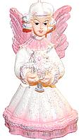 Свеча  Агнел с цветами, фото 1