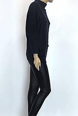 Женский свитер гольф оверсайз люрекс, фото 2