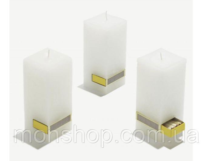 Свеча со спичками (аромат и цвет на выбор)