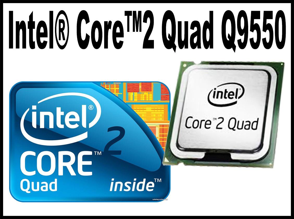 Intel Core2 Quad Processor Q9550 Core 2 Q 9550