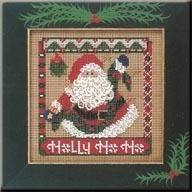 Набор для вышивки Mill Hill Winter Santa