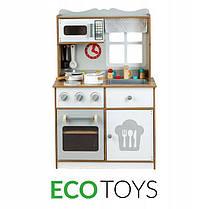Дерев'яна кухня для дітей EcoToys White, фото 2
