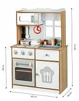 Деревянная кухня для детей EcoToys White, фото 3