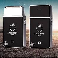 Аккумуляторная электробритва Kemei apple