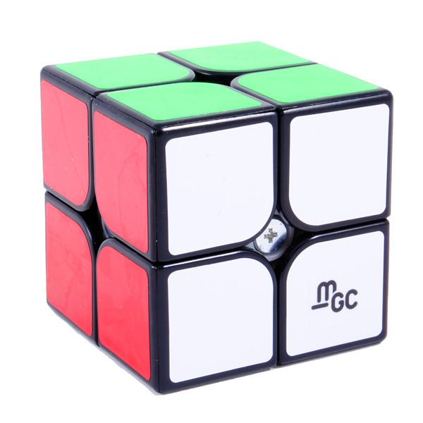 YJ MGC 2x2 Magnetic Cube black   Магнитный кубик 2x2