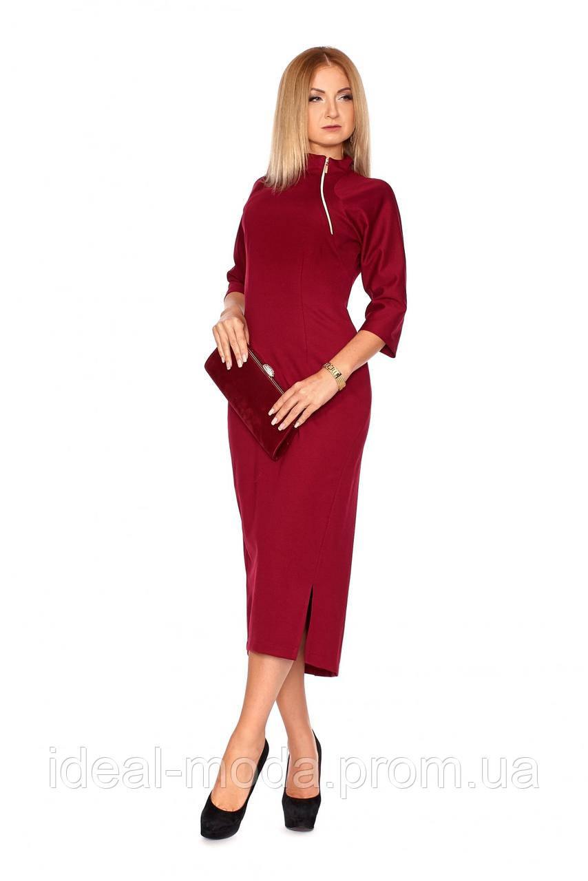 2a640695feb5 Осенние платье с теплого трикотажа Виктория -