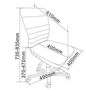 Детское компьютерное кресло FunDesk LST9 Blue, фото 2