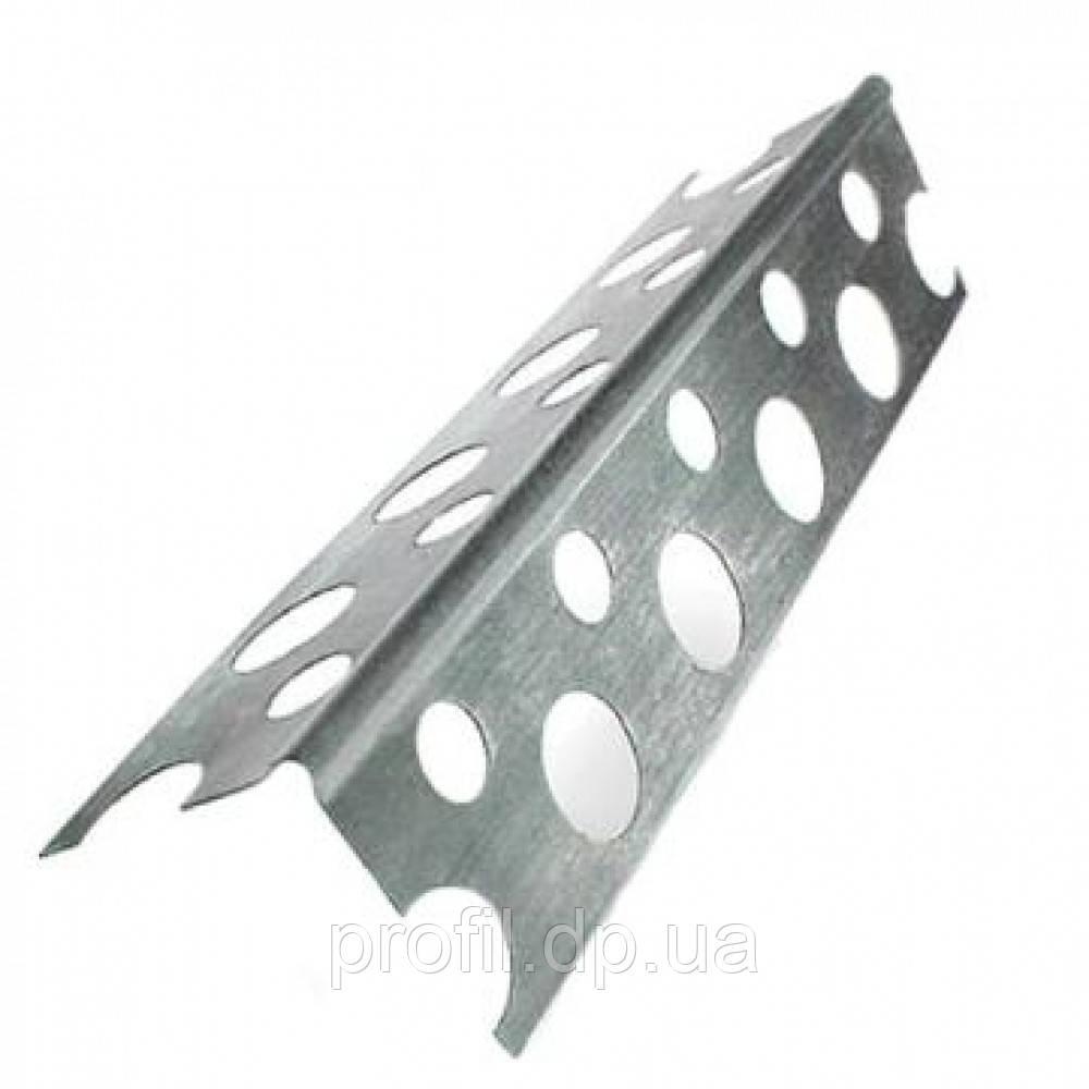 Уголок алюминиевый перфорированный (3м/0,30мм)