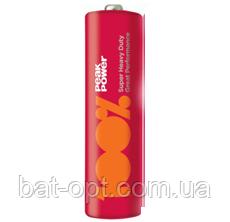 Батарейка солевая GP Peak Power 15PP-S2 Heavy Duty R6 AA пальчиковая (трей)