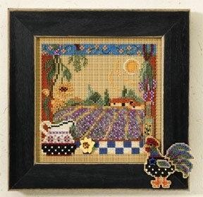 Набор для вышивки Mill Hill Lavender Fields (2007)