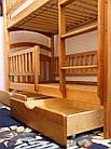 Кровать двухъярусная Карина-Люкс Высший сорт, без сучков, фото 3