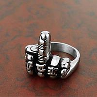 Оригинальное кольцо из нержавеющей стали 20 размер, фото 1