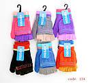 Перчатки-варежки вязанные с обрезанными пальцами (продаются только от 12 пар), фото 3