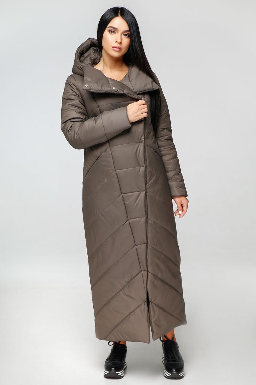 Зимнее качественное пальто макси, разные цвета